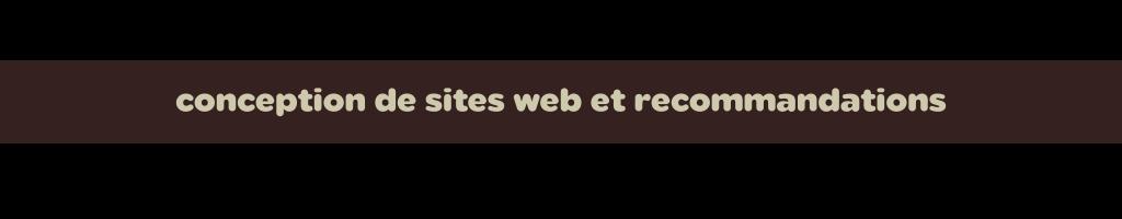 conception-site-web-recommandations